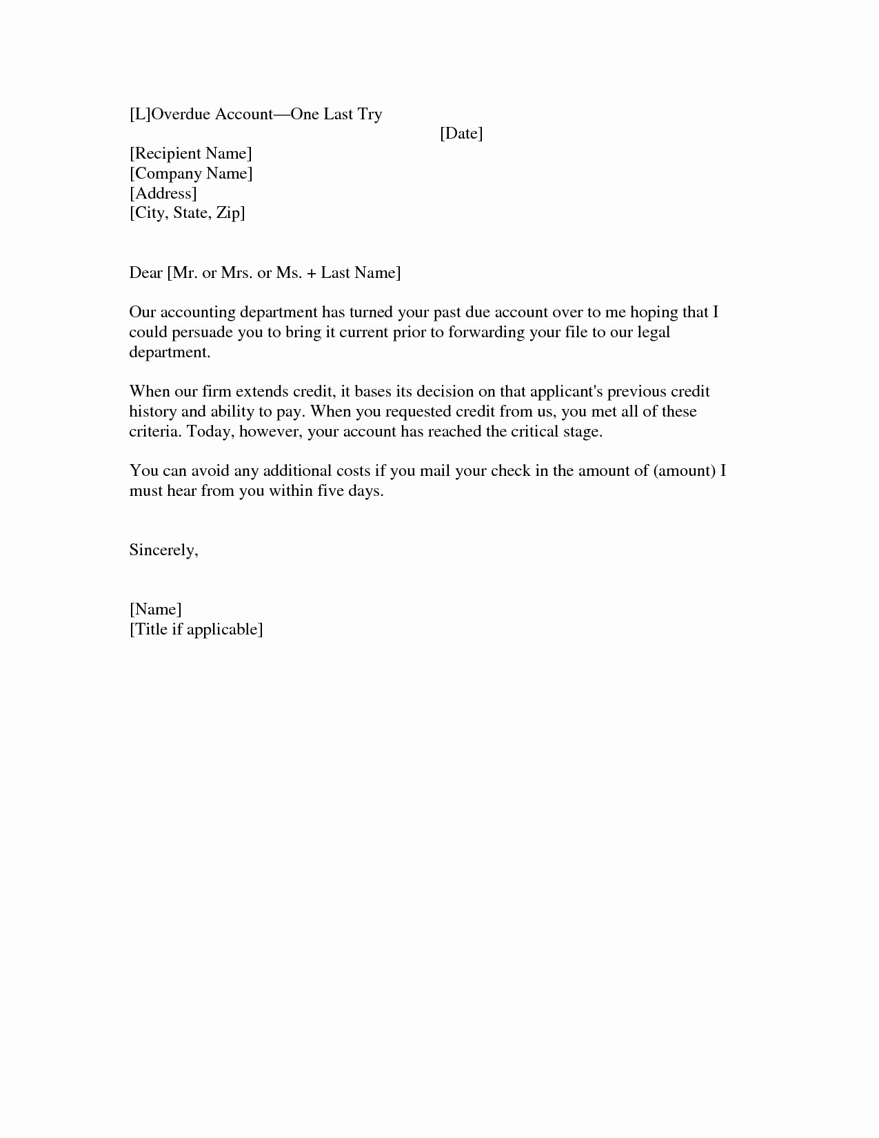 Past Due Invoice Template Lovely Past Due Invoice Letter Sample Invoice Template Ideas