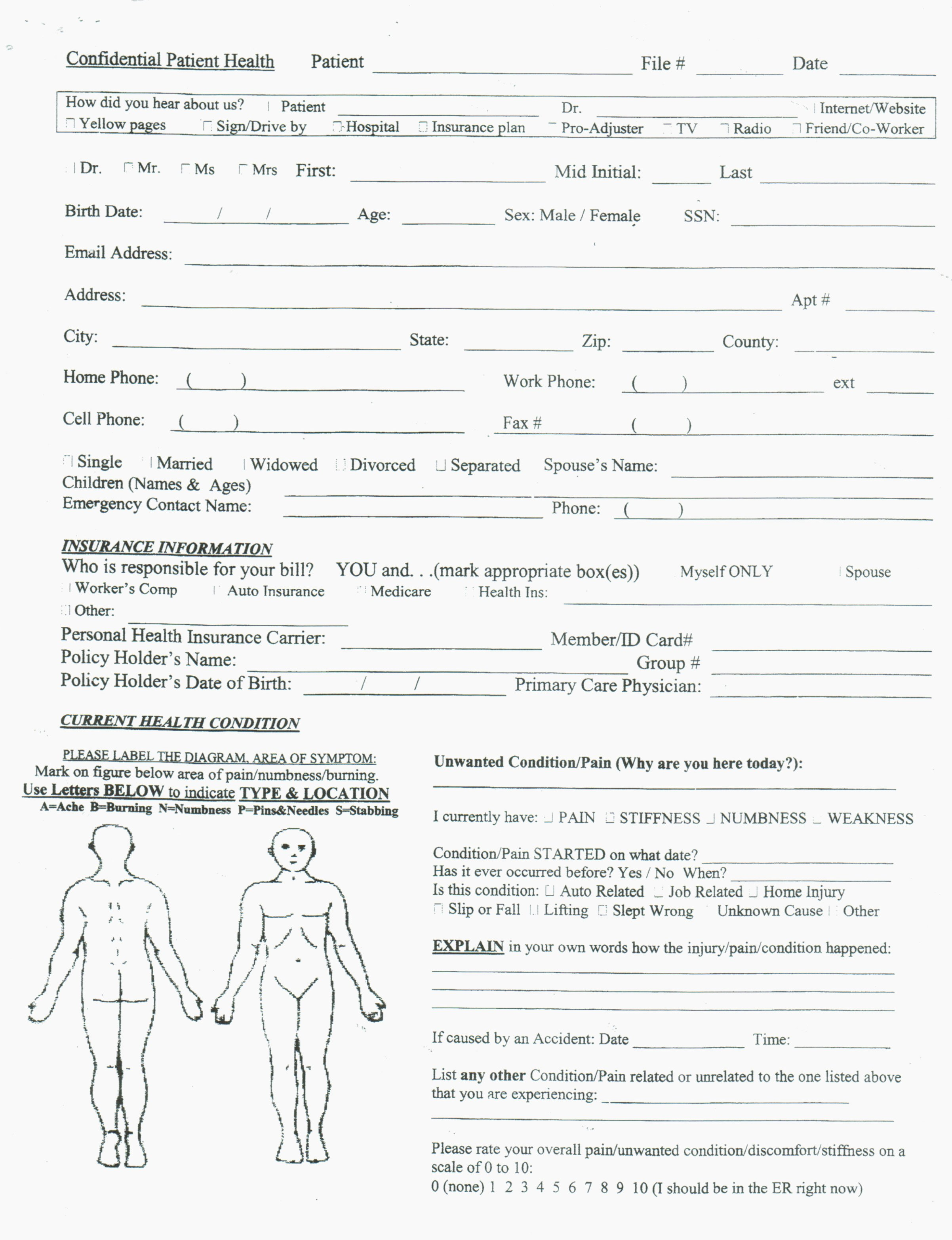 Patient Intake form Template New How to Leave Client Intake