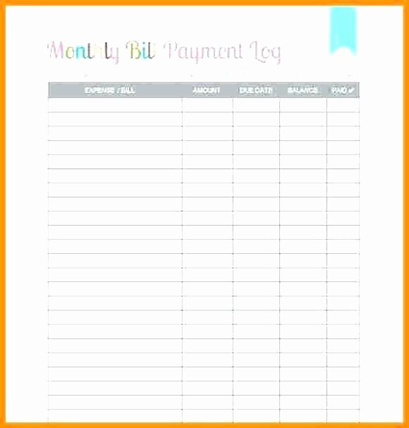 Payment Tracker Excel Template Inspirational Monthly Bill Tracker Bullet Journal Stickers Page