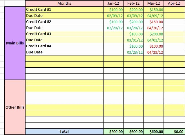 Payment Tracker Excel Template New How Do You Make Sure Your Bills are Paid Time Fat