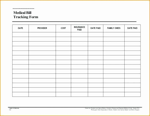 Payment Tracker Excel Template Unique Monthly Bill Pay Payment Log organizer Excel Template