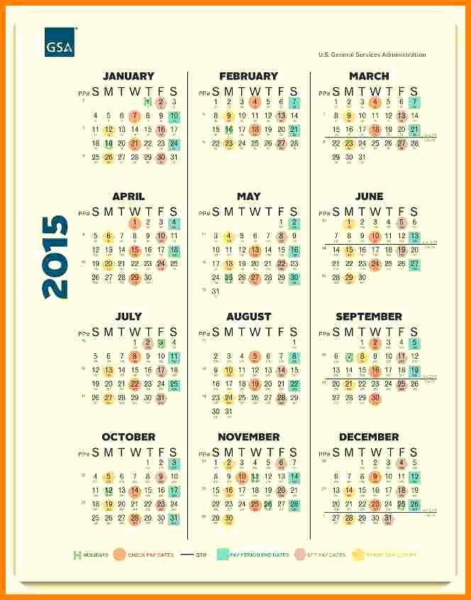 Payroll Calendar 2016 Template Elegant 7 Semi Monthly Payroll Calendar 2015 Template