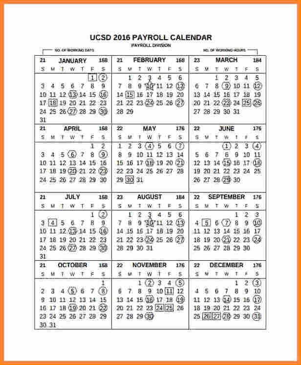 Payroll Calendar 2016 Template Inspirational 11 2016 Semi Monthly Payroll Calendar