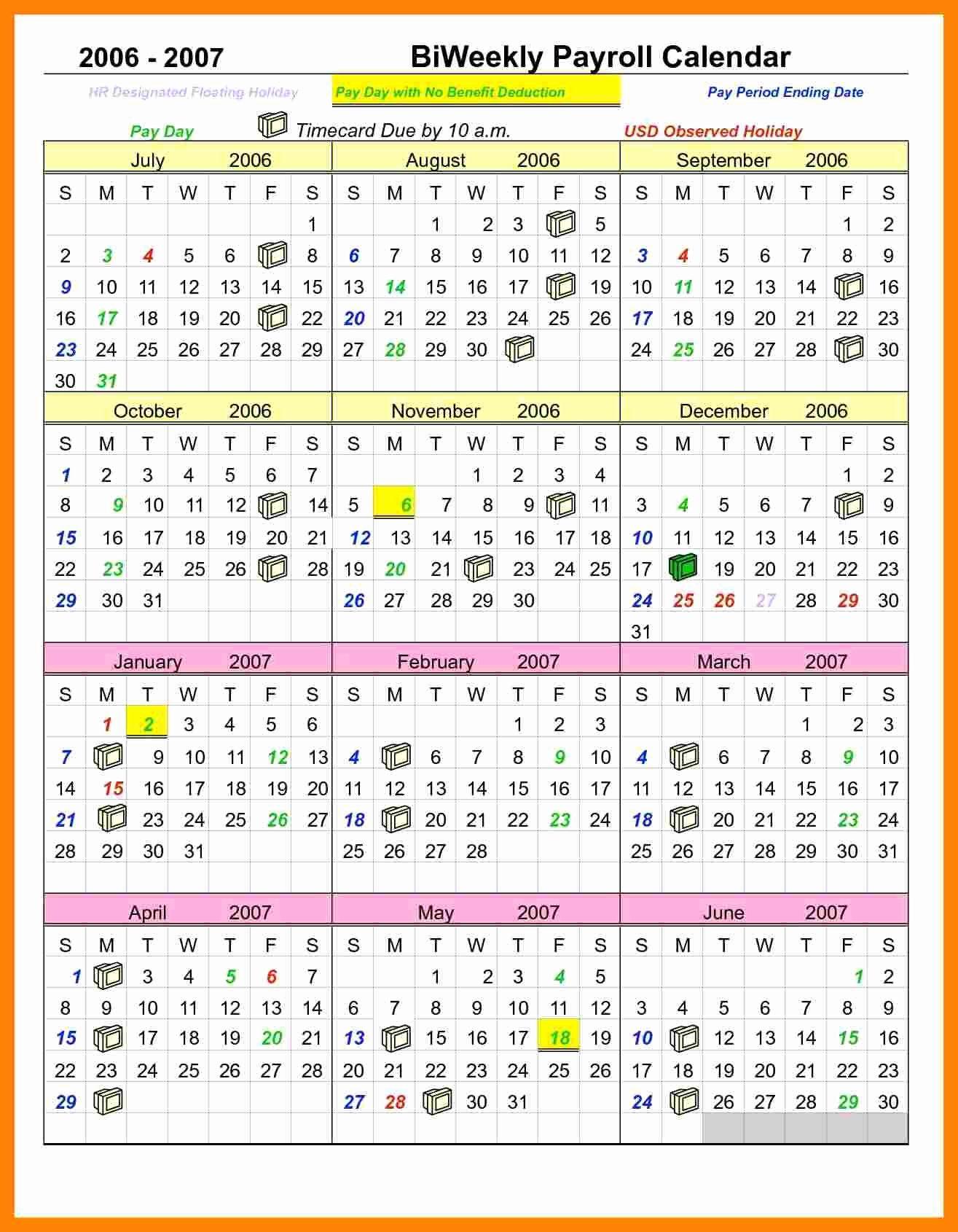 Payroll Calendar 2016 Template Inspirational 8 Payroll Calendar Template 2016