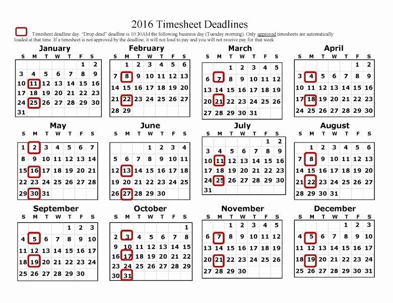 Payroll Calendar 2016 Template Lovely Adp Biweekly Payroll Calendar 2018 2019 Stellen Sie