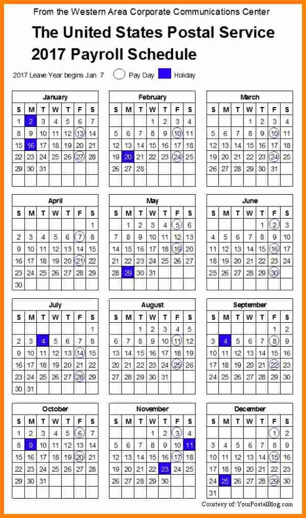 Payroll Calendar 2016 Template Luxury 9 2016 Biweekly Payroll Calendar