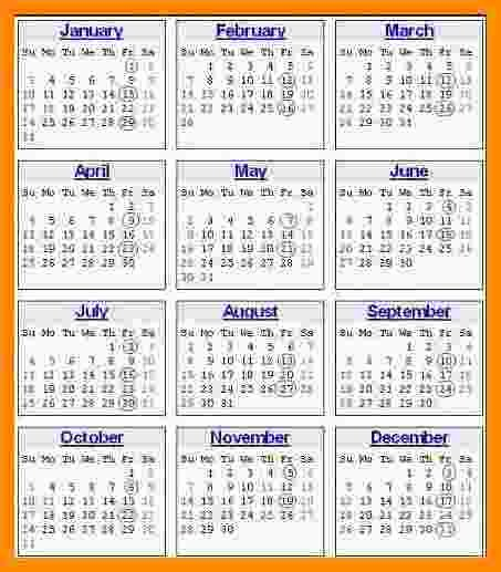 Payroll Calendar 2016 Template New 5 Weekly Payroll Calendar 2016