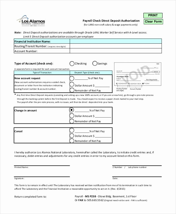 Payroll Check Printing Template Fresh Blank Check Template 7 Free Pdf Documents Download