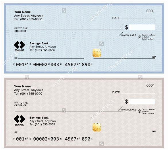 Payroll Check Printing Template Lovely Blank Check Template – 30 Free Word Psd Pdf & Vector