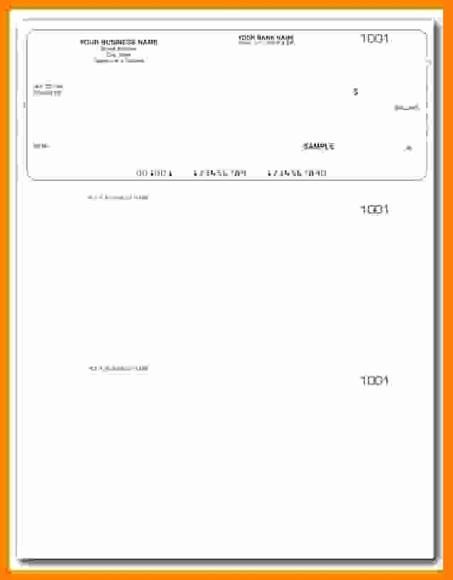 Payroll Check Printing Template Luxury 5 Payroll Check Printing Template