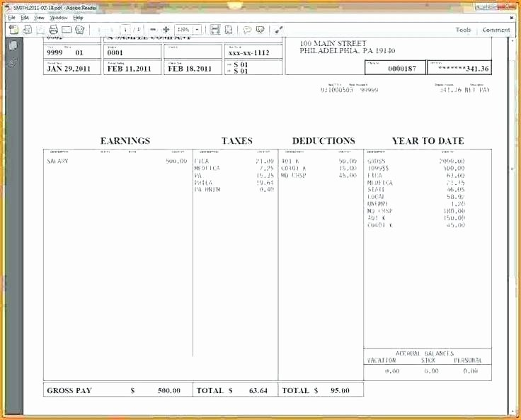Payroll Stub Template Excel Lovely Pay Stub Excel Template – Buildingcontractor