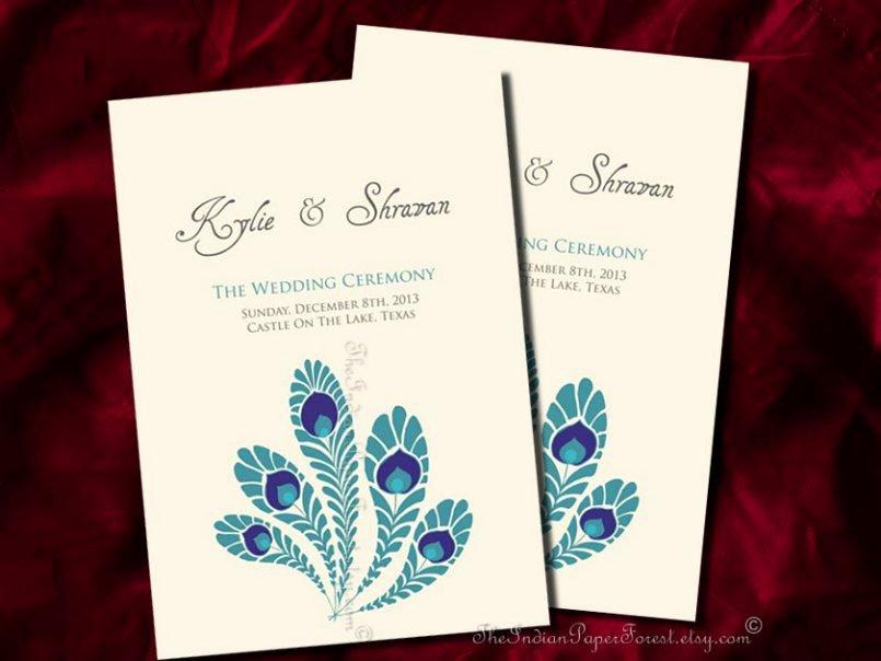 Peacock Wedding Invitations Template Elegant Wordings Peacock Wedding Invitations Template with