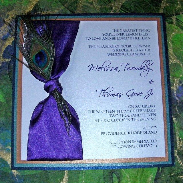 Peacock Wedding Invitations Template New 7 Best Of Peacock Wedding Invitations Printable