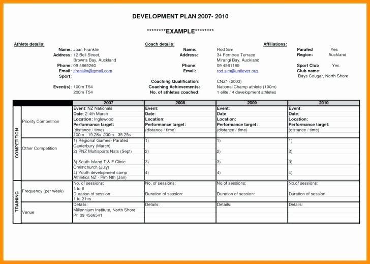 Performance Development Plan Template Best Of Performance Development Plan Template – Azserverfo