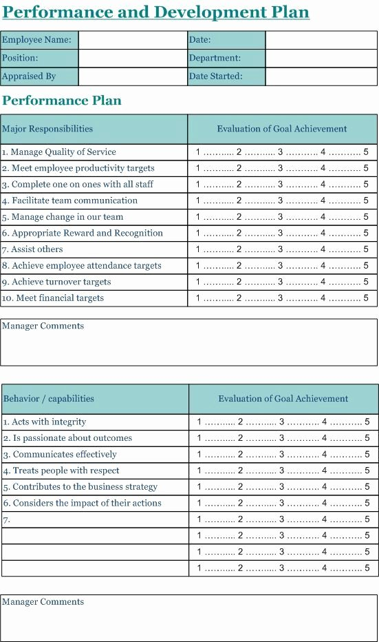 Performance Evaluation form Template Inspirational Pin by Itz My On Human Resource Management