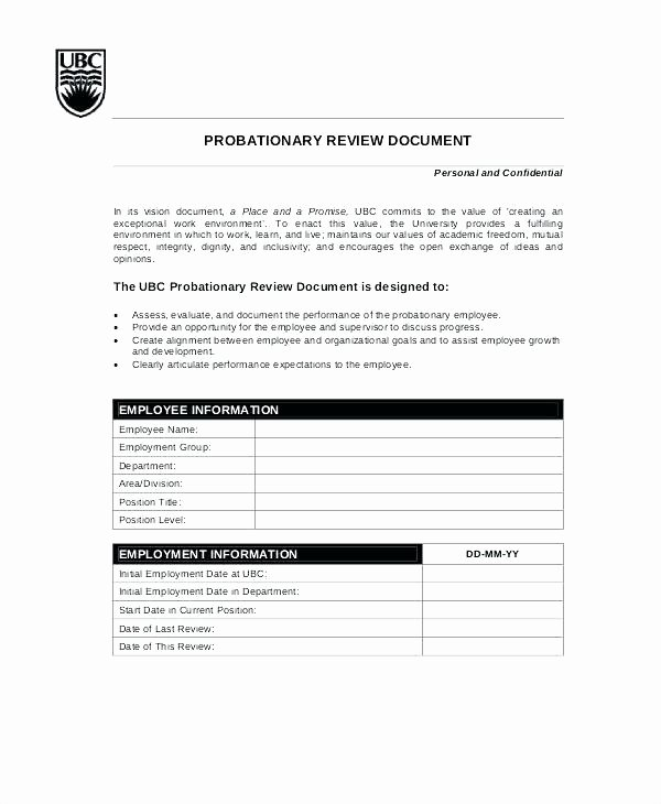 Performance Review Template for Managers Elegant Restaurant Manager Performance Review Template Employee