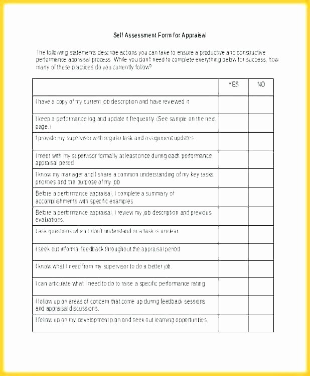 Performance Review Template for Managers Unique Performance Appraisal Template for Managers Performance