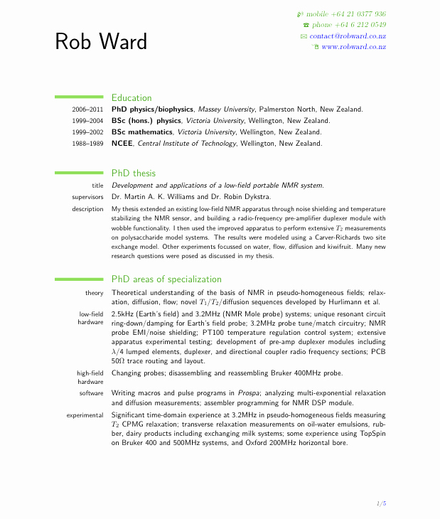 Performing Arts Resume Template Awesome Cv Template Nz for Students
