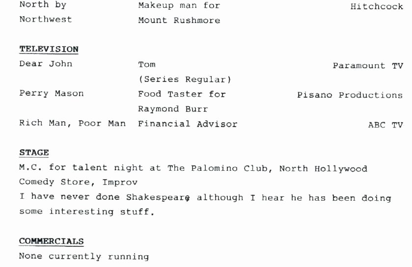 Performing Arts Resume Template Unique Childs Performing Arts Resume Cute Builder for Your Free