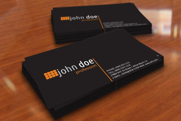 Personal Business Card Template Awesome 8 Personal Card Templates Psd Ai Vector Eps