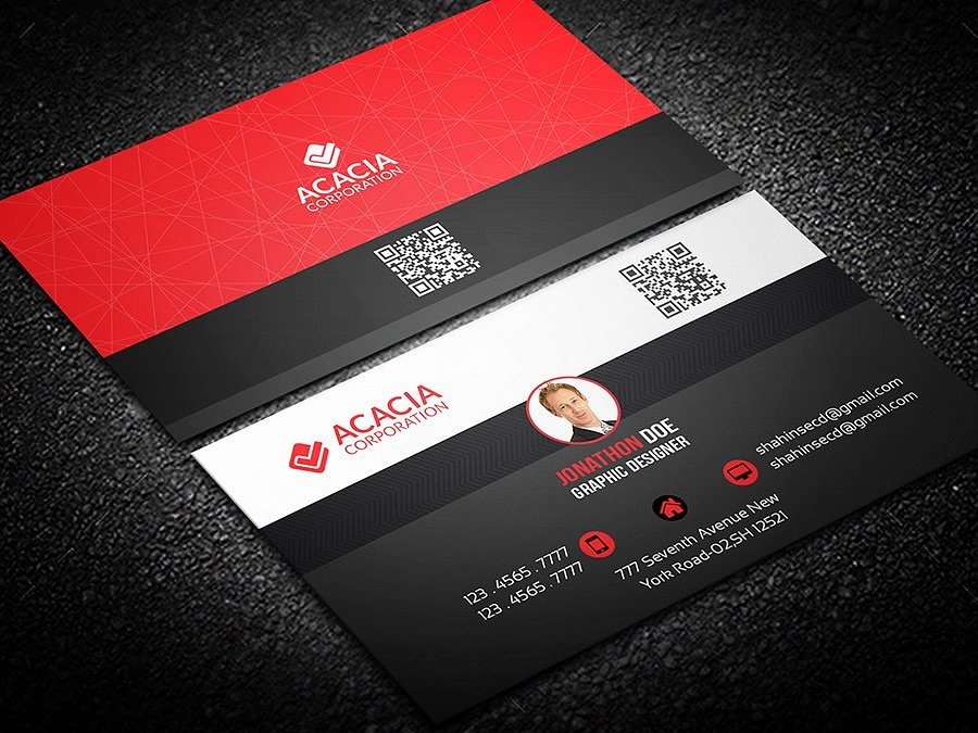 Personal Business Card Template Awesome Personal Business Card Business Card Templates