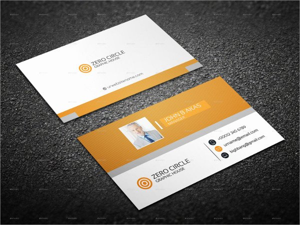 Personal Business Card Template Beautiful 23 Personal Business Cards Free Psd Vector Ai Eps