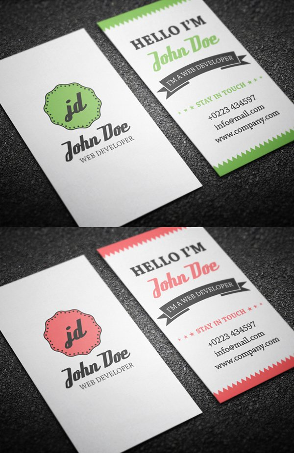 Personal Business Card Template Fresh Free Business Cards Psd Templates Print Ready Design