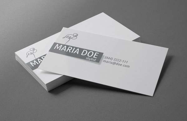 Personal Business Card Template Fresh Personal Stylist Business Cards Free Template Free Vector