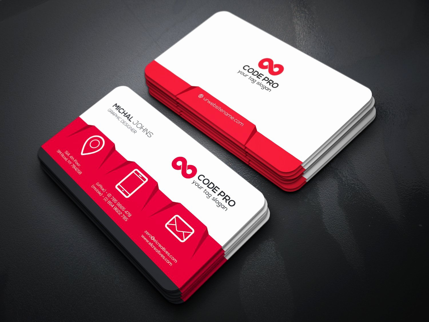 Personal Business Card Template Lovely Personal Business Card Business Card Templates