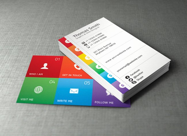 Personal Business Card Template New 20 Best Free Business Card Templates