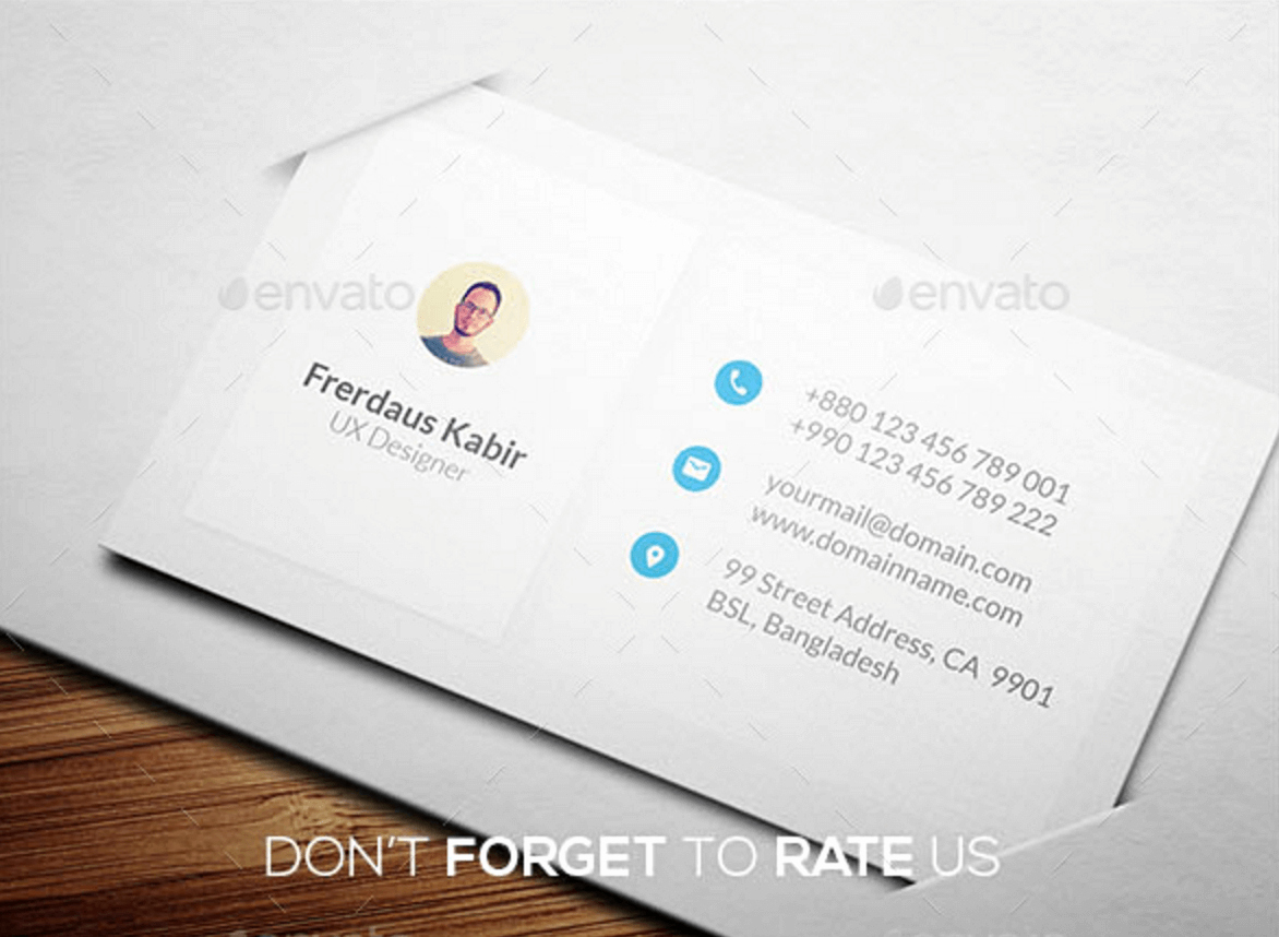 Personal Business Card Template New Personal Business Card Designs