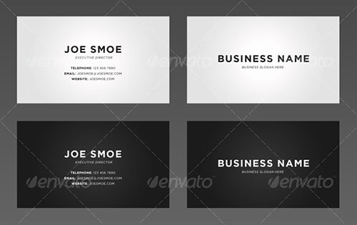 Personal Business Card Template Unique 45 attractive Personal Business Card Templates