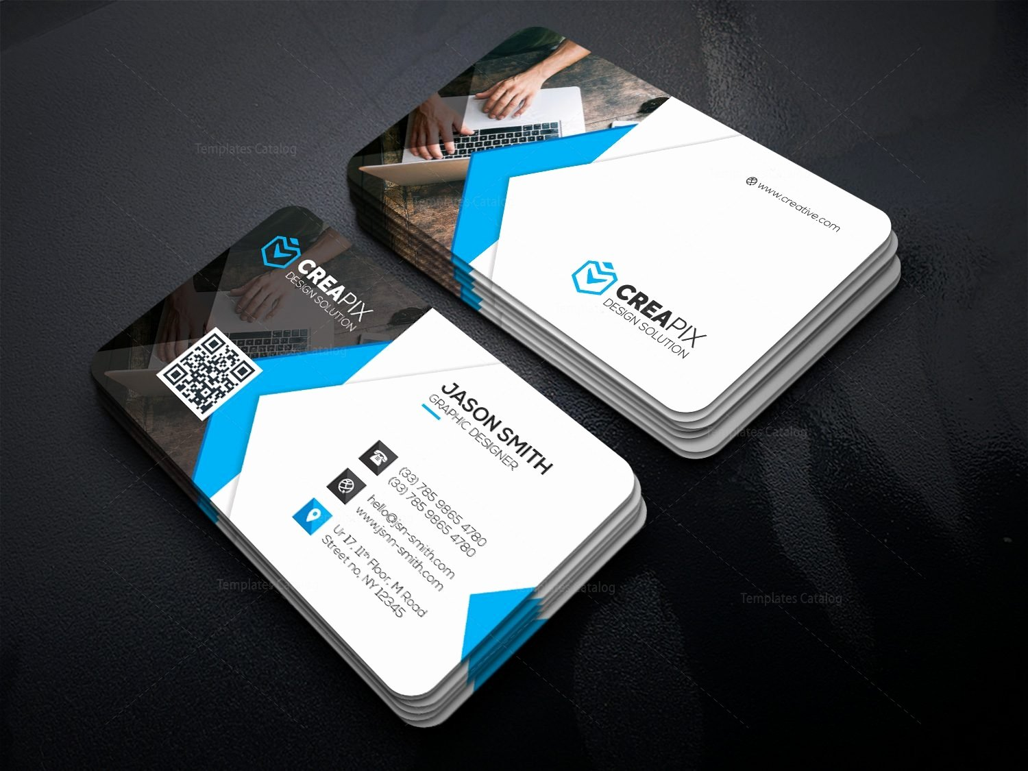 Personal Business Card Template Unique Personal Business Card Template Template Catalog