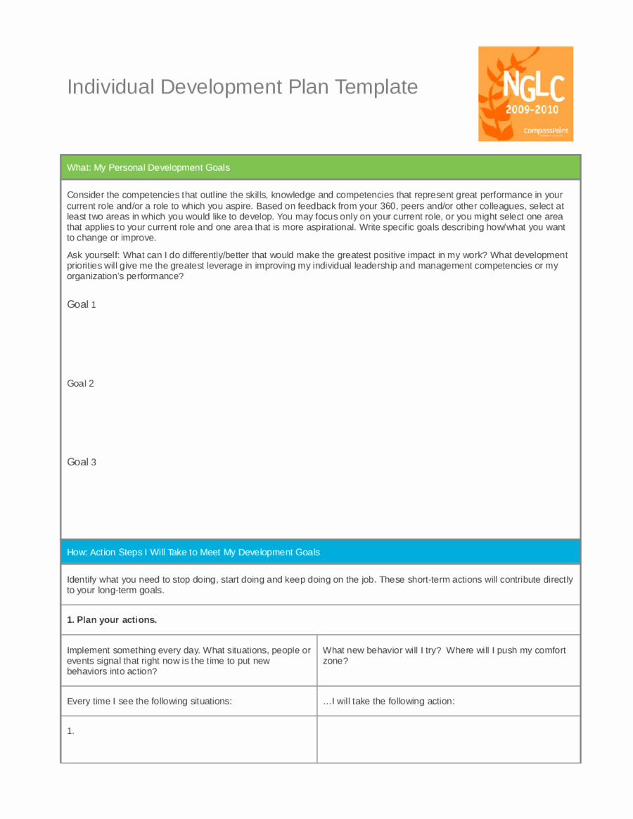 Personal Development Plan Template Unique Personal Development Plan Template How to Write Personal