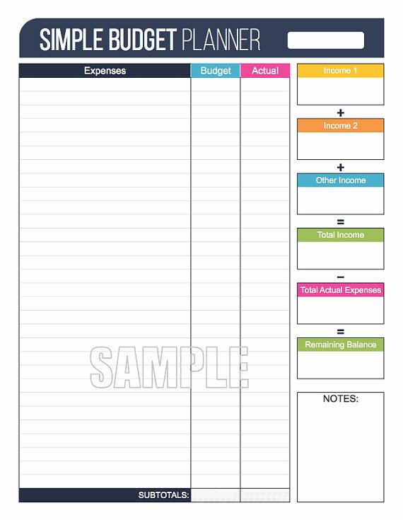 Personal Finance Planner Template Beautiful Money Management Set Fillable Financial Printables