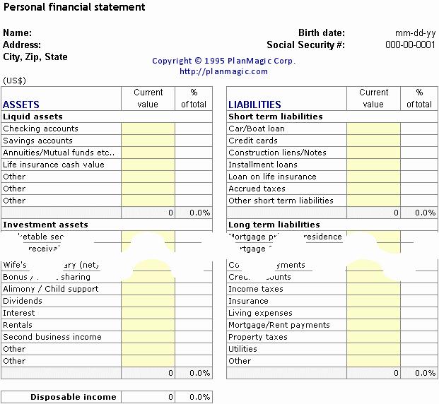 Personal Financial Plan Template Best Of Line Business Plan Bonus tools