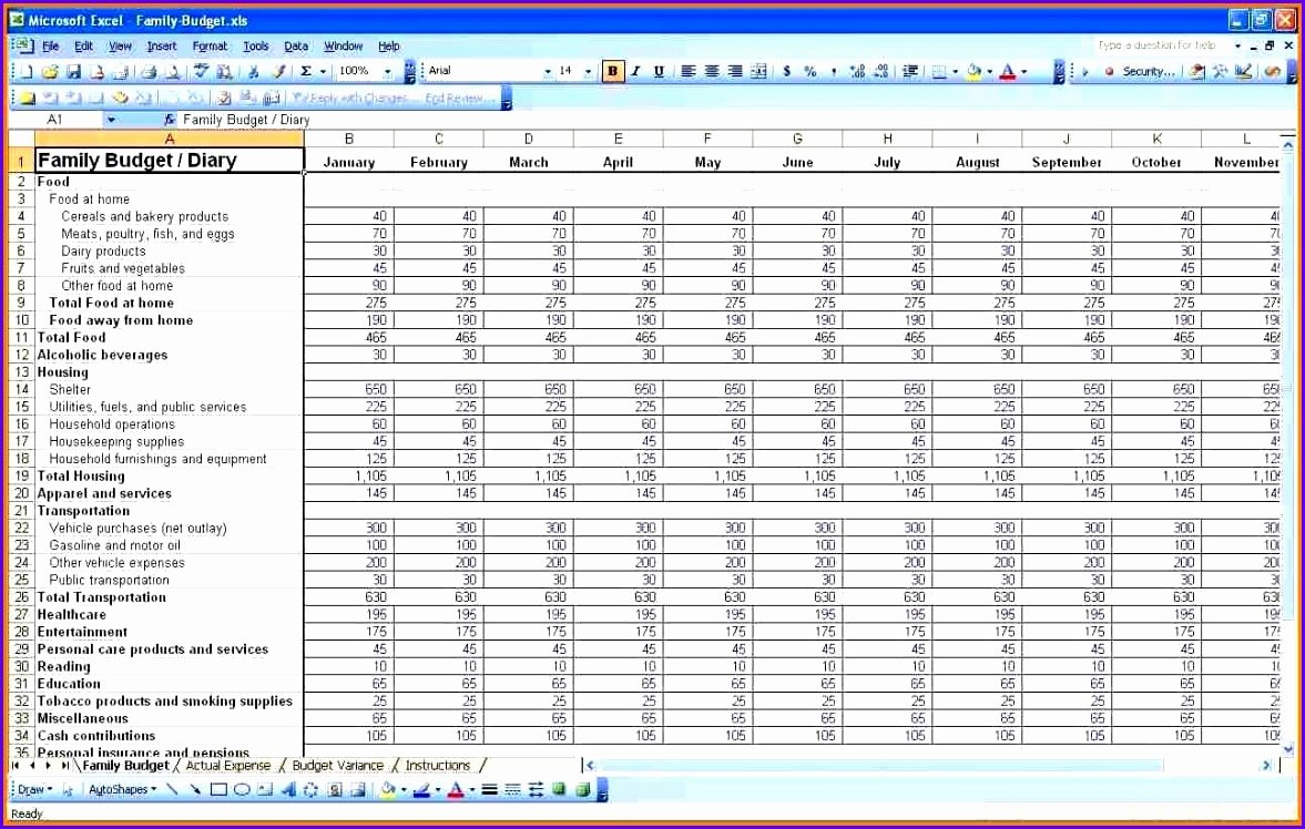 Personal Financial Plan Template Elegant 8 Expenses Template Excel Exceltemplates Exceltemplates