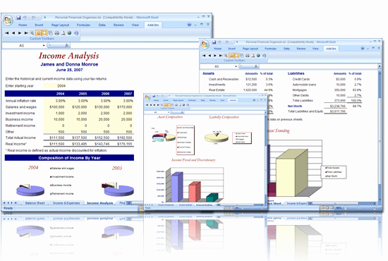 Personal Financial Planner Template New 8 Financial Plan Templates Excel Excel Templates