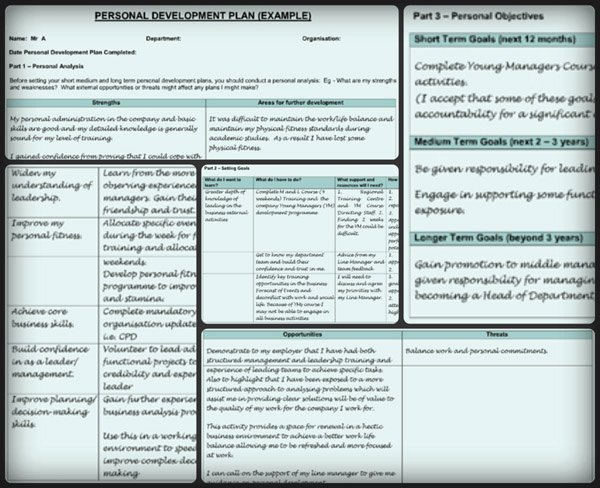 Personal Improvement Plan Template Elegant Personal Development Plan Template – 9 Free Samples In Pdf