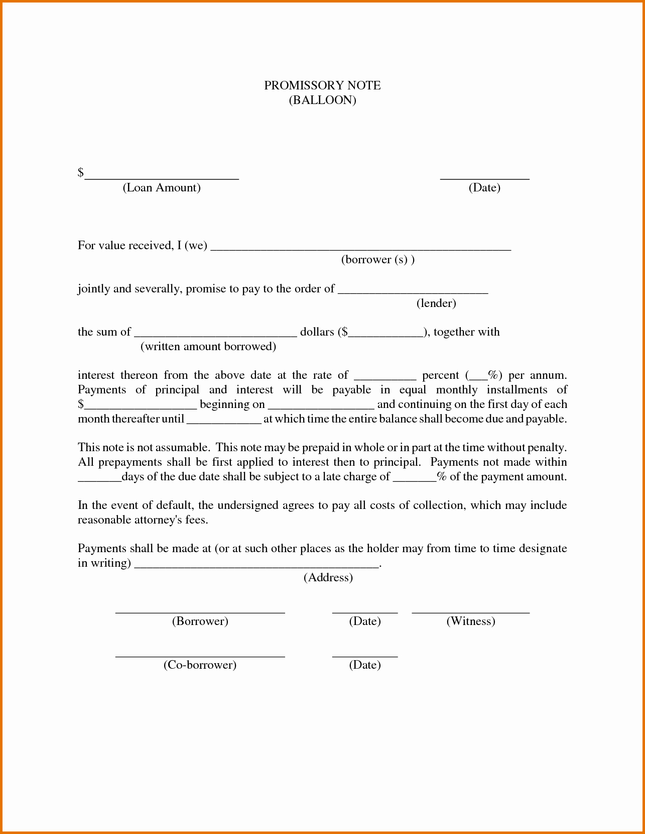 Personal Loan Promissory Note Template Awesome Promissory Note Free Download Portablegasgrillweber
