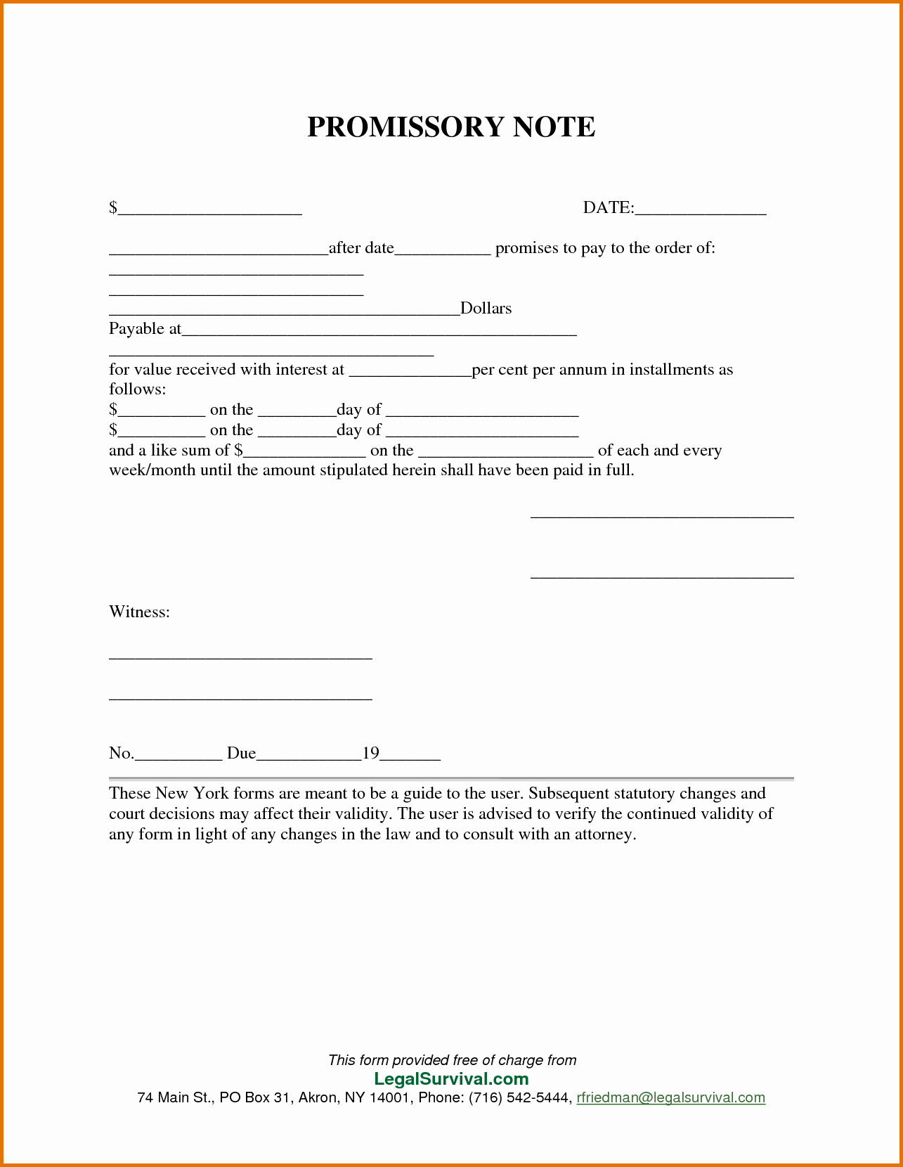 Personal Loan Promissory Note Template Fresh 8 Free Promissory Note Template for Personal