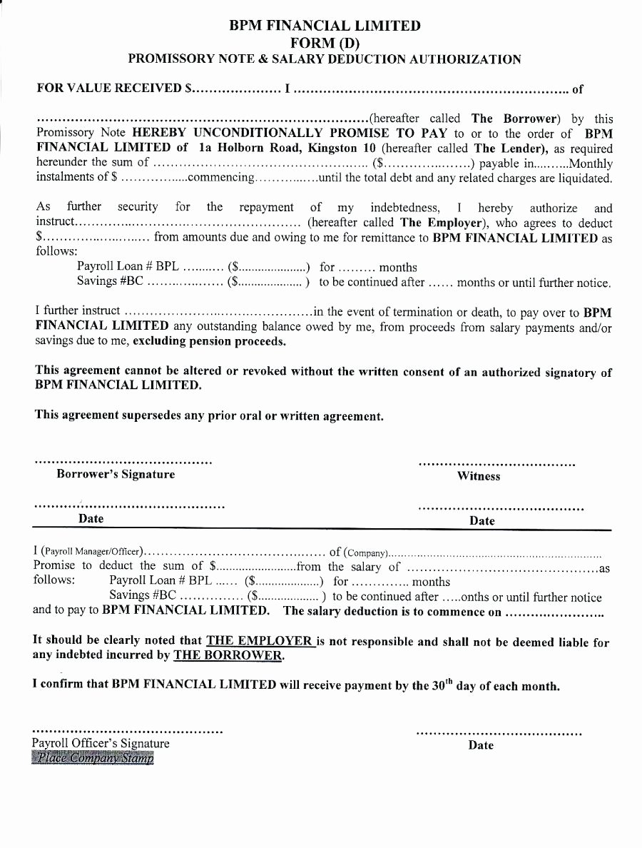 Personal Loan Promissory Note Template Unique Template Personal Loan Promissory Note Template Word