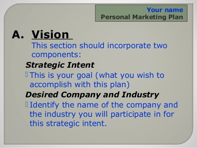Personal Marketing Plan Template Inspirational Personal Marketing Plan for the Small Business Owner