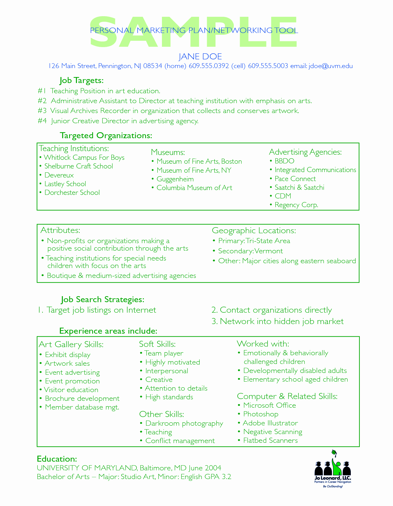 Personal Marketing Plan Template Inspirational Sample Strategic Marketing Plan My Blog Business