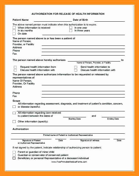 Personal Medical Record Template Fresh 12 13 Personal Health Records Template
