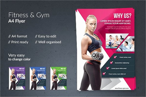 Personal Trainer Flyer Template Awesome 8 Gym Flyers Printable Psd Ai Vector Eps format