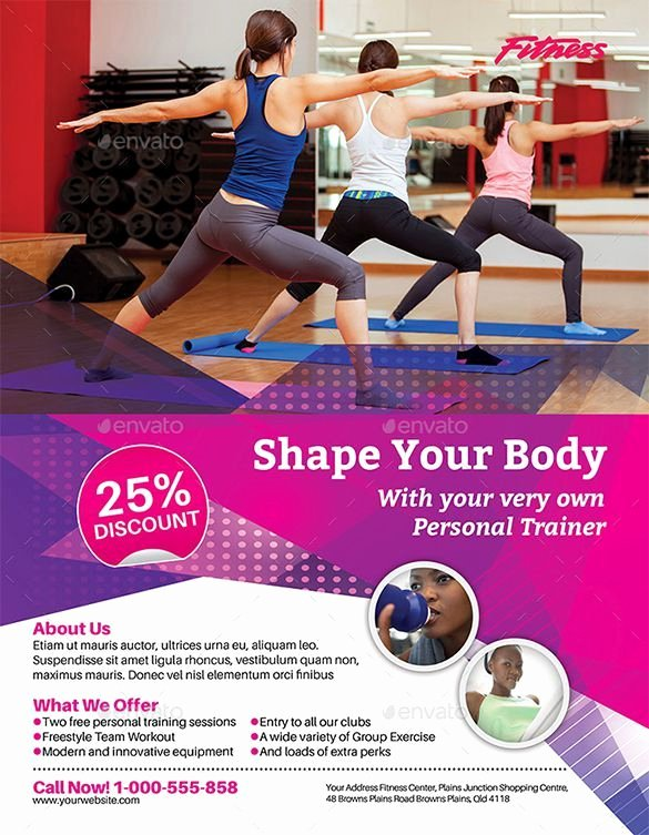 Personal Trainer Flyer Template Beautiful 1000 Images About Dm & Subscriptions On Pinterest