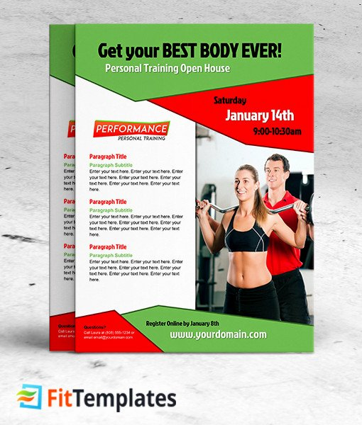 Personal Trainer Flyer Template Beautiful 27 Of Personal Trainer Flyer Template