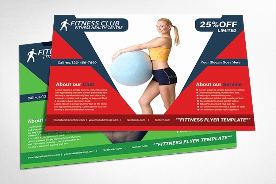 Personal Trainer Flyer Template Beautiful Fitness Flyer Gym Flyer Templates Flyer Templates