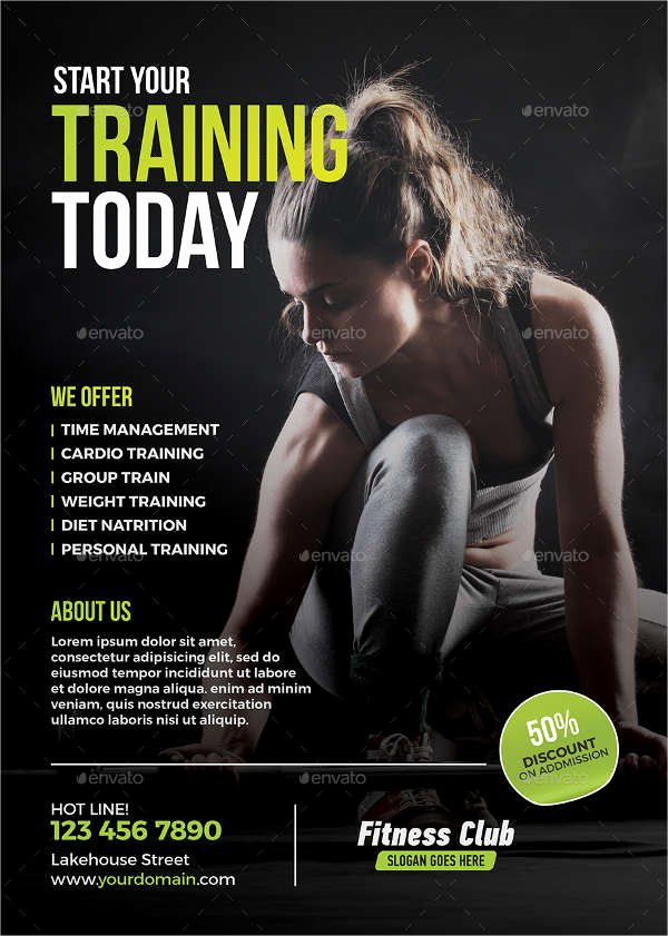 Personal Trainer Flyer Template Best Of Personal Trainer Flyer Template 12 Michigan